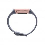 Fitbit Charge 3 - гривна с дисплей за следене на дневната и нощна активност на организма за iOS и Android (син-розово злато) 2