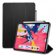 ESR Yippee Leather Case On/Off Case and stand for iPad Pro 11 (2018) (black)