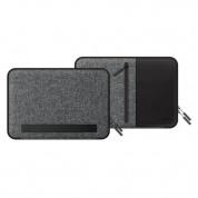 LabC Pocket Sleeve 15 - текстилен калъф за MacBook Pro 15 и лаптопи до 15.6 инча (черен) 2