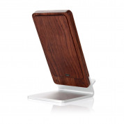 Seenda Qi Wireless Charging Wood Stand with LED Light 1