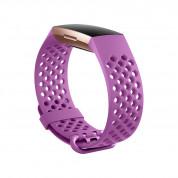 Fitbit Charge 3 Accessory Sport Band Small - еластична силиконова каишка за Fitbit Charge 3 (лилав) 1