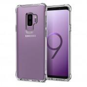 Spigen Rugged Crystal - термополиуретанов кейс с най-висока степен на защита за Samsung Galaxy S9 Plus (прозрачен) 1