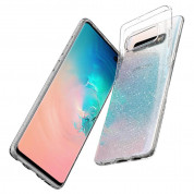 Spigen Liquid Crystal Glitter Case for Samsung Galaxy S10 Plus (clear) 7