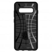 Spigen Neo Hybrid Case - хибриден кейс с висока степен на защита за Samsung Galaxy S10 Plus (черен) 3