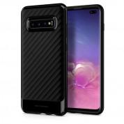 Spigen Neo Hybrid Case - хибриден кейс с висока степен на защита за Samsung Galaxy S10 Plus (черен)
