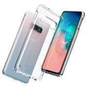 Spigen Ultra Hybrid Case - хибриден кейс с висока степен на защита за Samsung Galaxy S10E (прозрачен) 1