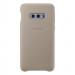 Samsung Leather Cover EF-VG970LJ - оригинален кожен калъф (естествена кожа) за Samsung Galaxy S10E (сив) 1