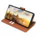 JT Berlin BookCase Kreuzberg Case - хоризонтален кожен (естествена кожа) калъф тип портфейл за Samsung Galaxy S10 Plus (кафяв) 4