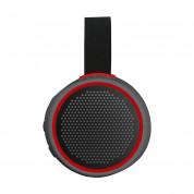Braven 105 Active Series Bluetooth Speaker - безжичен Bluetooth спийкър със спийкърфон за мобилни устройства (сив-червен) 1