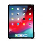 Artwizz Rubber Clip - матиран поликарбонатов кейс за iPad Pro 12.9 (2018) (черен) 4