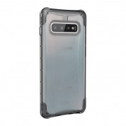 Urban Armor Gear Plyo Case - удароустойчив хибриден кейс за Samsung Galaxy S10 Plus (прозрачен) 3
