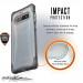 Urban Armor Gear Plyo Case - удароустойчив хибриден кейс за Samsung Galaxy S10 Plus (прозрачен) 7