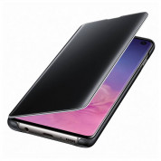 Samsung Clear View Cover EF-ZG973CB for Galaxy S10 (black) 1