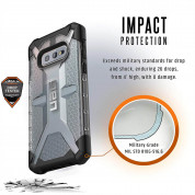Urban Armor Gear Plasma - удароустойчив хибриден кейс за Samsung Galaxy S10E (прозрачен) 4