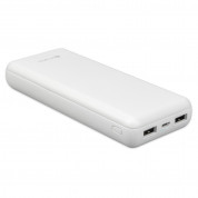 4smarts Power Bank VoltHub Go 20000 mAh - външна батерия с 2 USB изхода (бял) 2