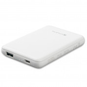 4smarts Power Bank VoltHub Go 5000 mAh - външна батерия с USB изход (бял) 1