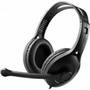 Edifier K800 - геймърски слушалки с микрофон и управление на звука (черен)