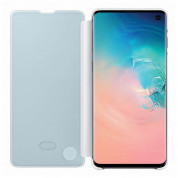 Samsung Clear View Cover EF-ZG973CW for Galaxy S10 (white-gray) 3