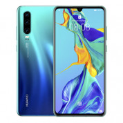 Huawei P30 128 GB - фабрично отключен (син)