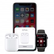 Apple AirPods 2 with Charging Case - оригинални безжични слушалки за iPhone, iPod и iPad 5