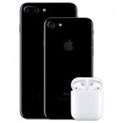 Apple AirPods 2 with Charging Case - оригинални безжични слушалки за iPhone, iPod и iPad 4
