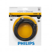 Philips HDMI Cable with Ethernet SWV2433W with Audio Return Chanel 3 m. 1