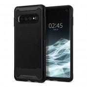 Spigen Hybrid NX Case - хибриден кейс с висока степен на защита за Samsung Galaxy S10 (черен)