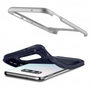 Spigen Neo Hybrid Case - хибриден кейс с висока степен на защита за Samsung Galaxy S10E (син) 5