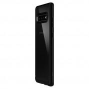 Spigen Ultra Hybrid Case - хибриден кейс с висока степен на защита за Samsung Galaxy S10 Plus (черен-прозрачен) 2