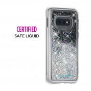 CaseMate Waterfall Case - дизайнерски кейс с висока защита за Samsung Galaxy S10E (бял) 3