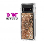 CaseMate Waterfall Case for Samsung Galaxy S10 (gold) 1