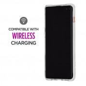 CaseMate Waterfall Case - дизайнерски кейс с висока защита за Samsung Galaxy S10 Plus (златист) 5
