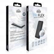 Eiger Tri Flex High Impact Film Screen Protector - качествено защитно покритие за дисплея на iPhone 11 Pro, iPhone XS, iPhone X (един брой) 2