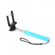 Omega Monopod Smartphones Cable Telescopic Pole Selfie Stick - селфи монопод за мобилни устройства (син)