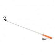 Omega Monopod Smartphones Cable Telescopic Pole Selfie Stick - селфи монопод за мобилни устройства (оранжев) 1