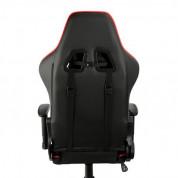 Varr Gaming Chair Monaco - ергономичен гейминг стол (черен-червен) 2