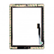 OEM iPad 3 Touch Screen Digitizer with Home button and Glass 3