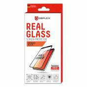 Displex Real Glass 10H Protector 3D Full Cover - калено стъклено защитно покритие за дисплея на Huawei Mate 20 (черен-прозрачен) 1