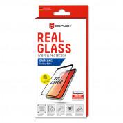 Displex Real Glass 10H Protector 3D Full Cover FPS wtih TPU Case - силиконов калъф и калено стъклено защитно покритие за дисплея на Samsung Galaxy S10 Plus 2