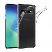 Displex Real Glass 10H Protector 3D Full Cover FPS with TPU Case for Samsung Galaxy S10 Plus (black) 3