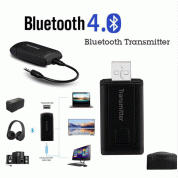 Wireless Bluetooth USB Receiver - аудио адаптер, чрез който можете да прехвърлите звука от мобилното ви устройство към телевизор или компютър 3