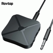 Rovtop 2 in 1 Stereo Bluetooth 4.2 Receiver & Transmitter - аудио трансмитер и рисийвър за безжично прехвърляне на аудио