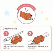 Cable Bite Protection - артистичен аксесоар, предпазващ вашия Lightning кабел (слон) 3