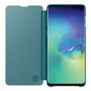 Samsung Clear View Cover EF-ZG973CG for Galaxy S10 (green) 2
