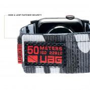 Urban Armor Gear Active Watch Strap - изключително здрава текстилна каишка за Apple Watch 42мм, 44мм (сив) 4