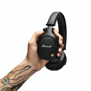 Marshall Monitor Bluetooth Wireless Headphones - аудиофилски безжични слушалки с микрофон (черен) 1
