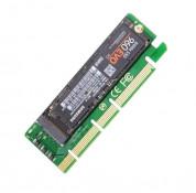 CY SA NGFF M-key NVME AHCI to PCI-E 3.0 x1 SSD - адаптер за NVME памети към PCI-E 3.0 SSD