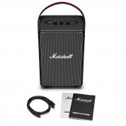 Marshall Tufton - безжичен портативен аудиофилски спийкър за мобилни устройства с Bluetooth и 3.5 mm изход (черен)  7