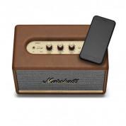 Marshall Acton II - безжичен аудиофилски спийкър за мобилни устройства с Bluetooth и 3.5 mm изход (кафяв) 1
