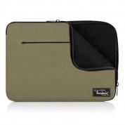 Incipio Ronin Sleeve - текстилен калъф за MacBook Pro 13, Pro Retina 13, Air 13 и преносими компютри до 13 инча (зелен) 1